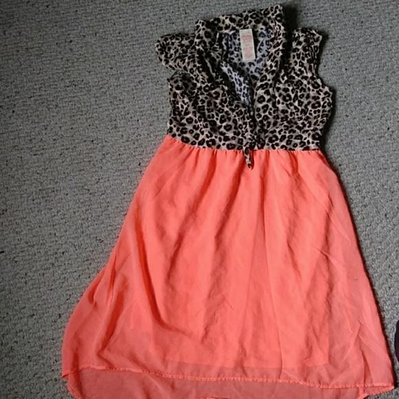 Faded Glory Dresses & Skirts - Cheetah print girls dress
